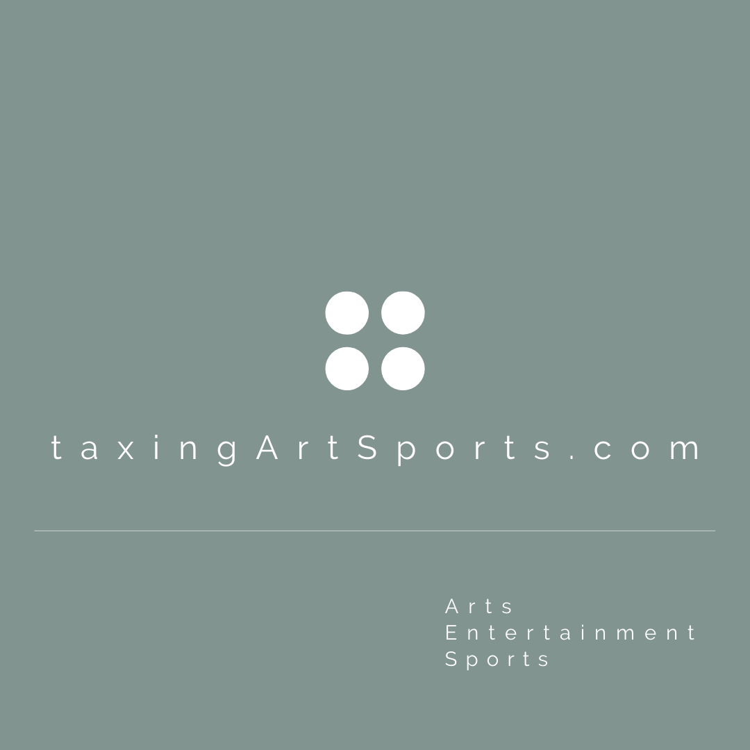 Blog aimed at providing insights about tax issues facing artists, entertainers, media companies, sportspersons, sports agents and professional sports clubs.